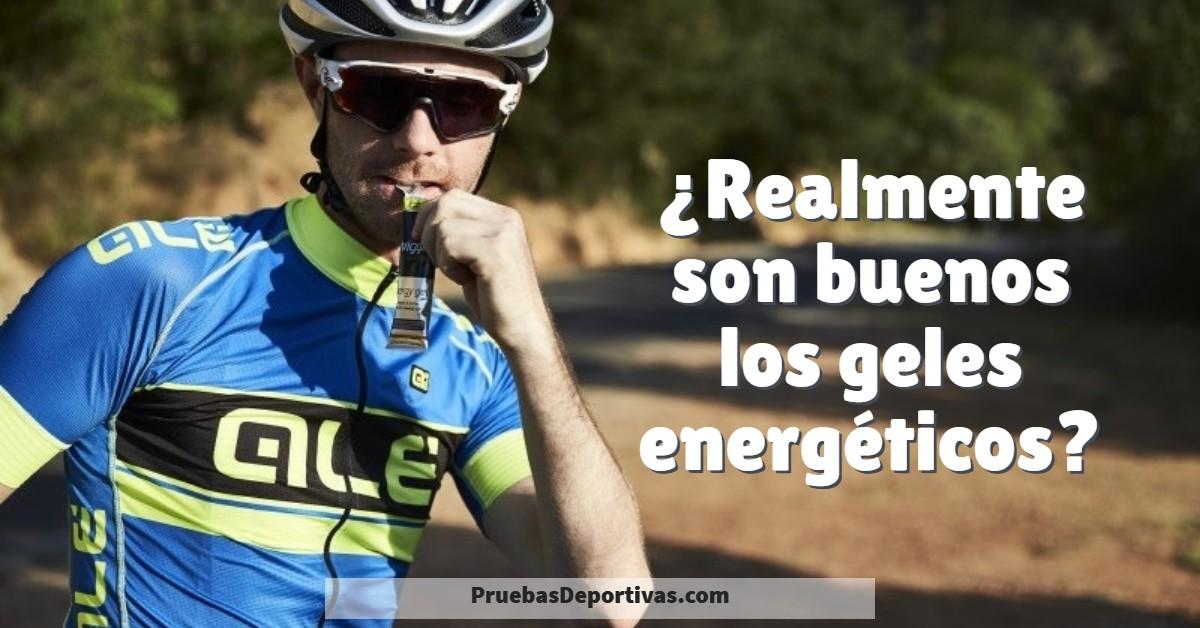 ▷ Cuando usar los GELES ENERGETICOS en ciclismo