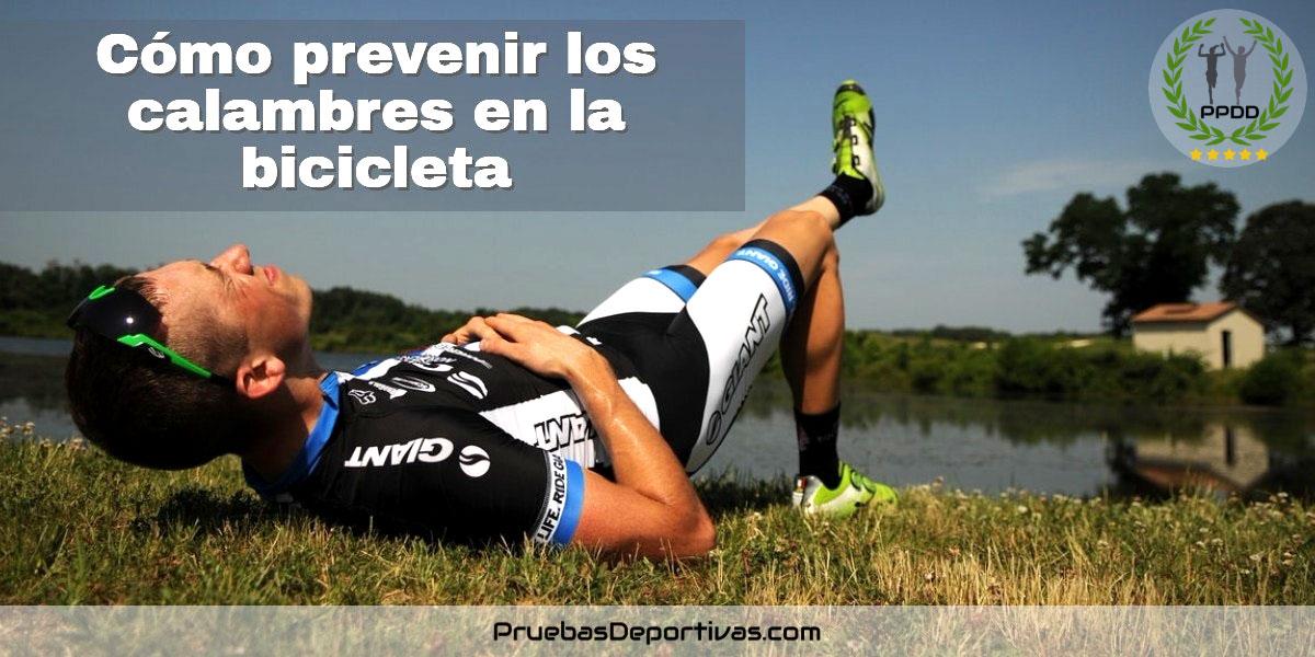 Cómo prevenir los calambres en la bicicleta