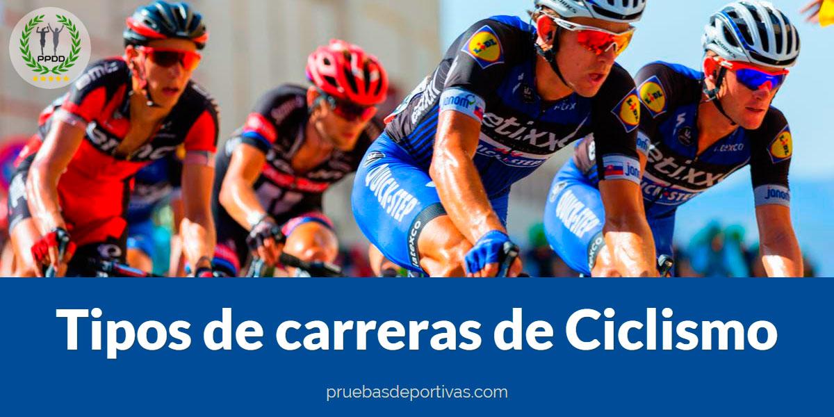 Tipos de carreras de Ciclismo - ¿Las conoces todas?