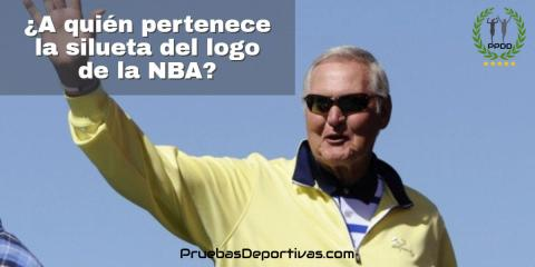 ¿A quién pertenece la silueta del logo de la NBA?