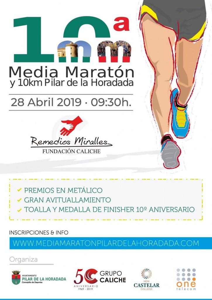10ª MEDIA MARATÓN Y 10K PILAR DE LA HORADADA - Alicante - 2019