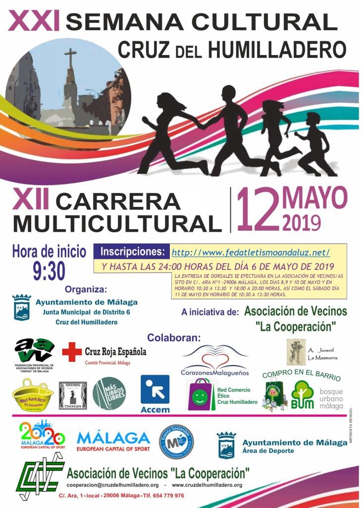 12º Carrera Multicultural Cruz del Humilladero - Málaga - 2019