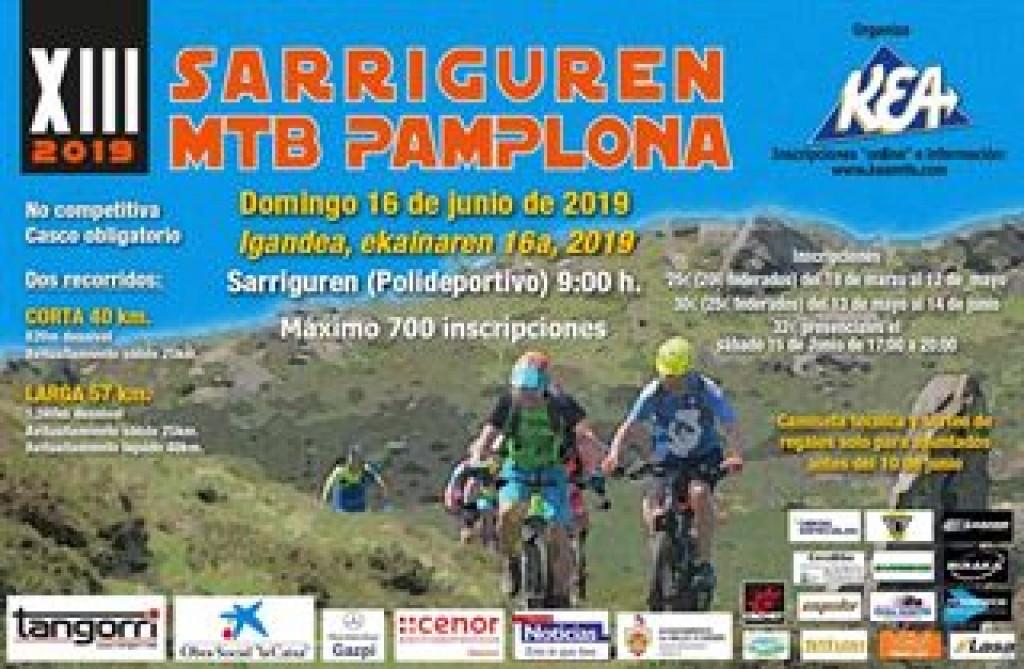 13ª SARRIGUREN MTB PAMPLONA 2019 - Navarra