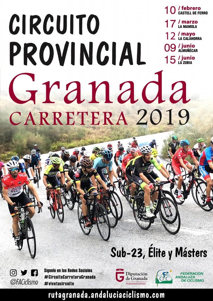 1ª CRONOESCALADA PUERTO DE LA RAGUA - Granada - 2019