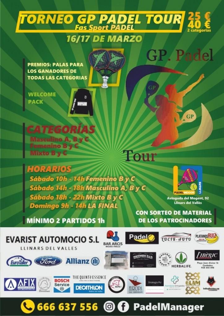 1ER TORNEO GP PADEL TOUR - Barcelona - 2019
