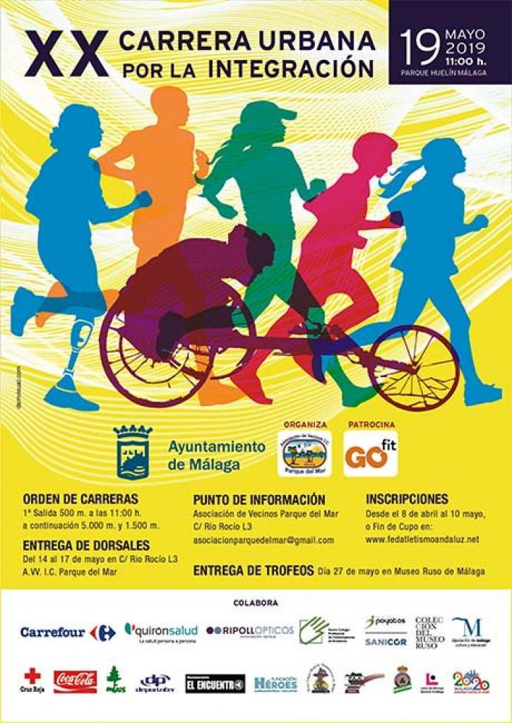 20 Carrera Urbana por la Integración - Málaga - 2019