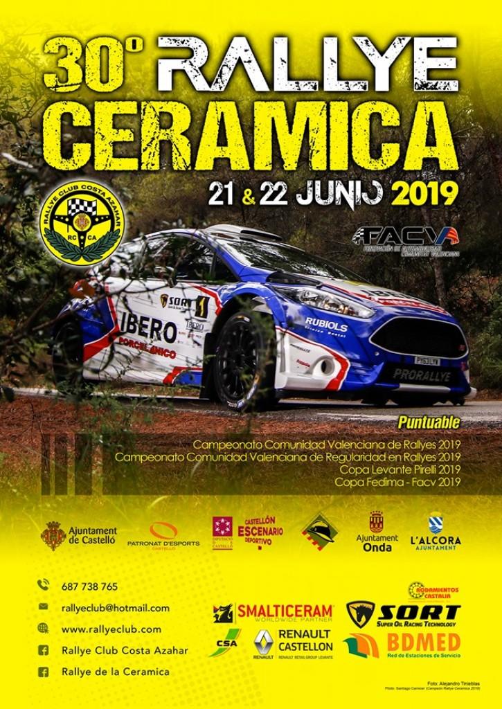 30º Rallye de la Cerámica - Castellón - 2019