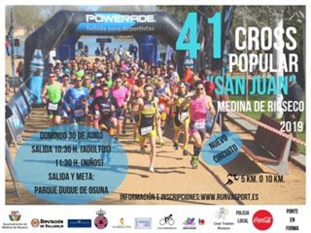 41º CROSS POPULAR SAN JUAN 2019 MEDINA DE RIOSECO - Valladolid