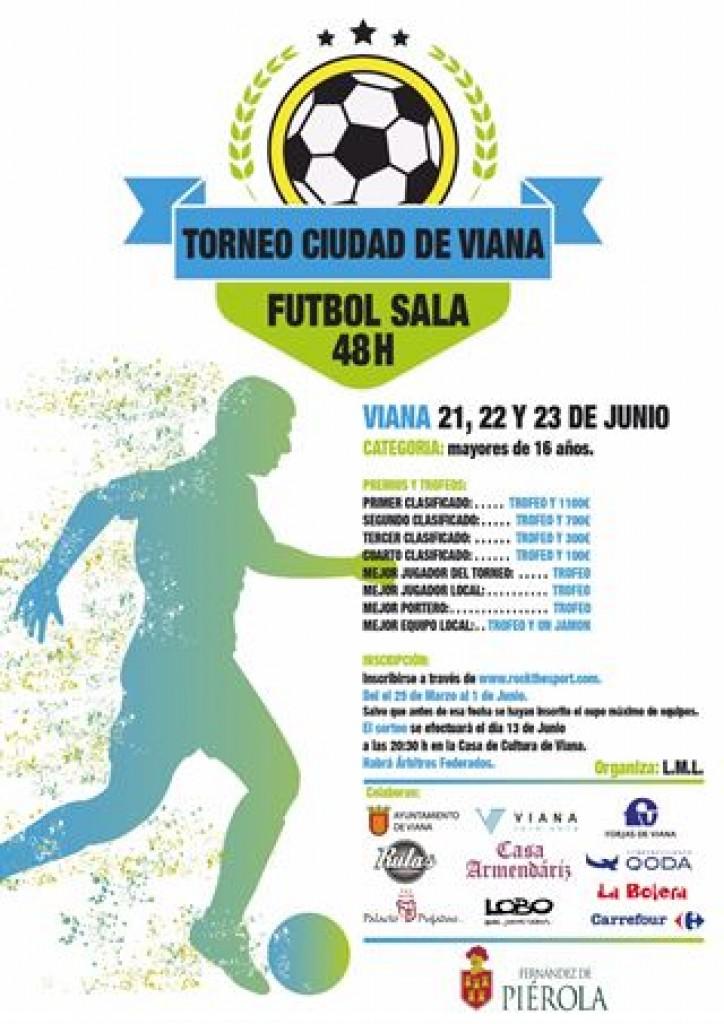 48 horas fútbol sala Ciudad de Viana - Navarra - 2019