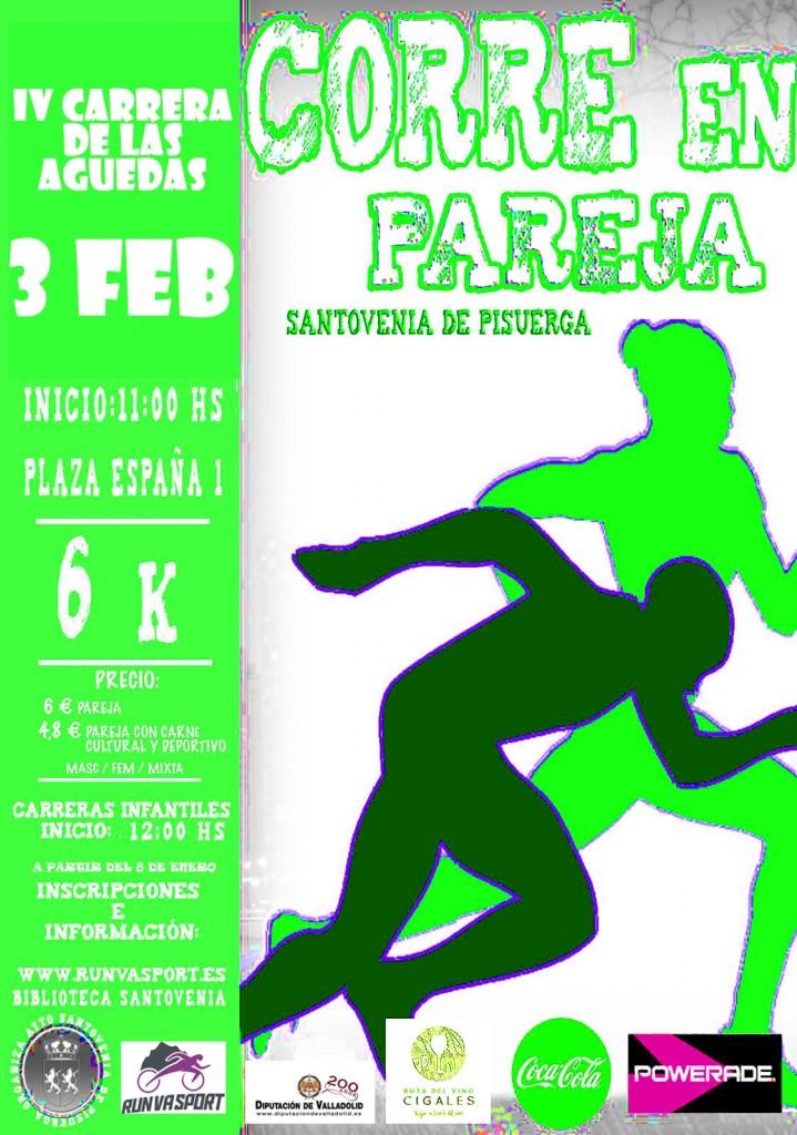 4ª Carrera Fiestas de Santa Agueda Santovenia de Pisuerga - Valladolid - 2019