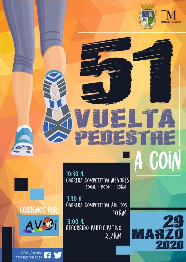 51 VUELTA PEDESTRE A COÍN - Málaga - 2020