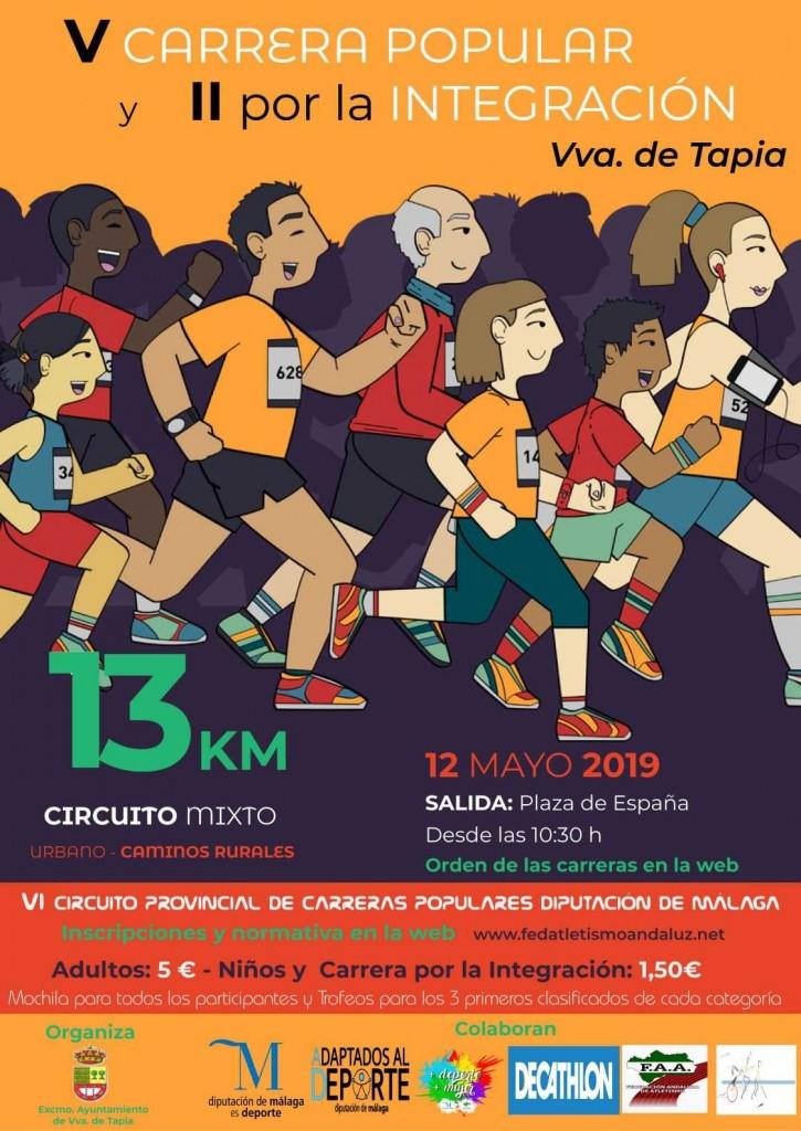 5ª Carrera Popular Villanueva de Tapia - Málaga - 2019
