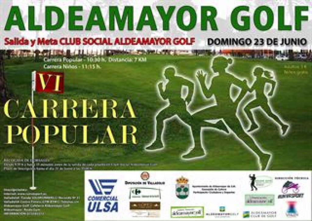 6ª Carrera Popular Aldeamayor Golf - Valladolid - 2019