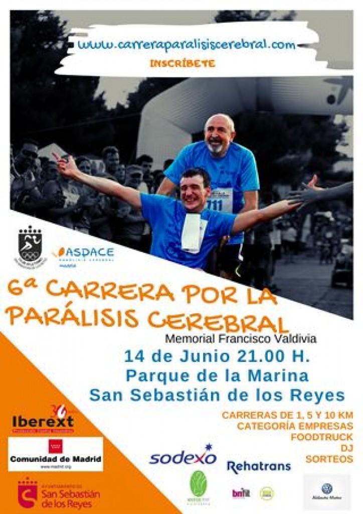 6ª Carrera por la parálisis cerebral - Madrid - 2019