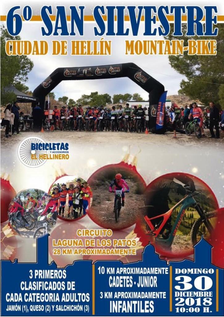 6º SAN SILVESTRE CIUDAD DE HELLIN MOUNTAIN BIKE - Albacete - 2018