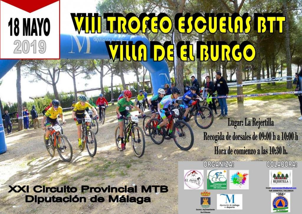8º TROFEO ESCUELAS BTT VILLA DE EL BURGO - Málaga - 2019
