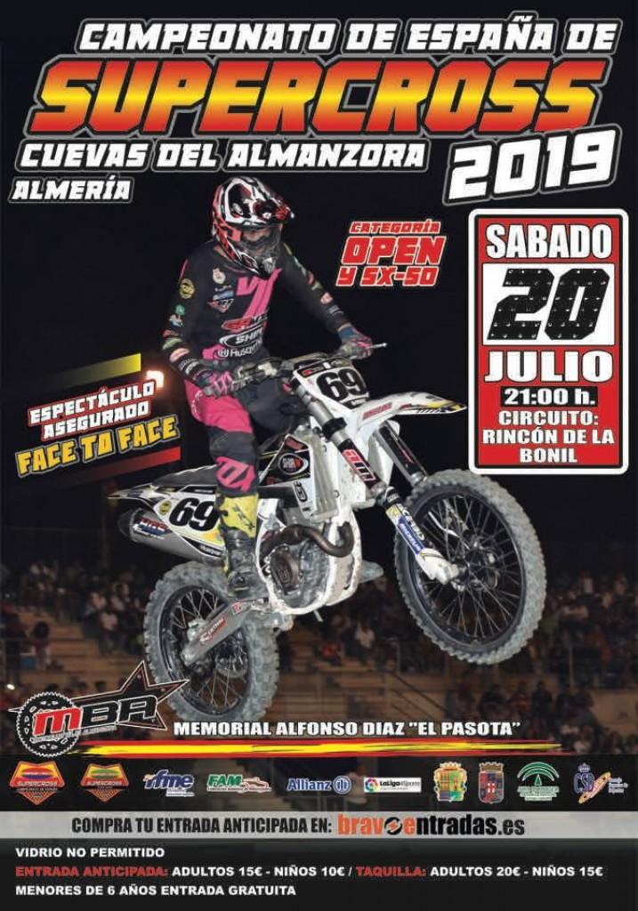 Campeonato de España de Supercross Cuevas del Almanzora 2019 - Almería