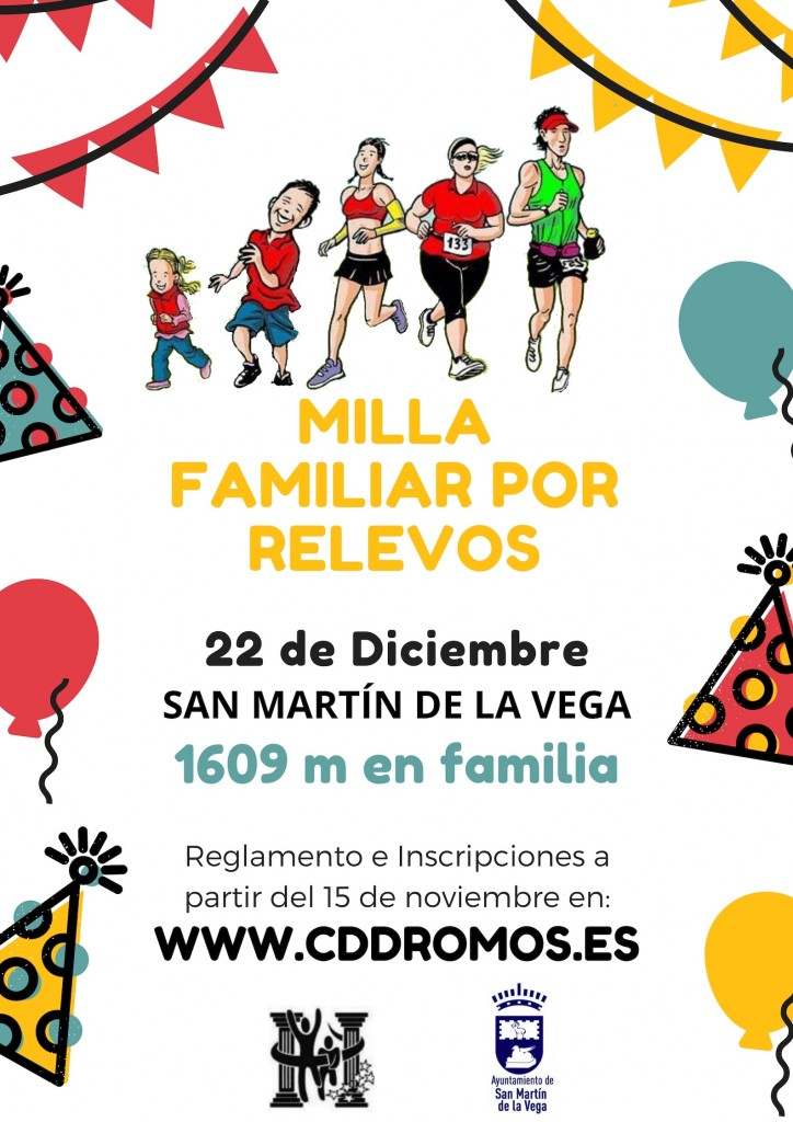 CARRERA FAMILIAR II MILLA NAVIDEÑA - Madrid - 2018