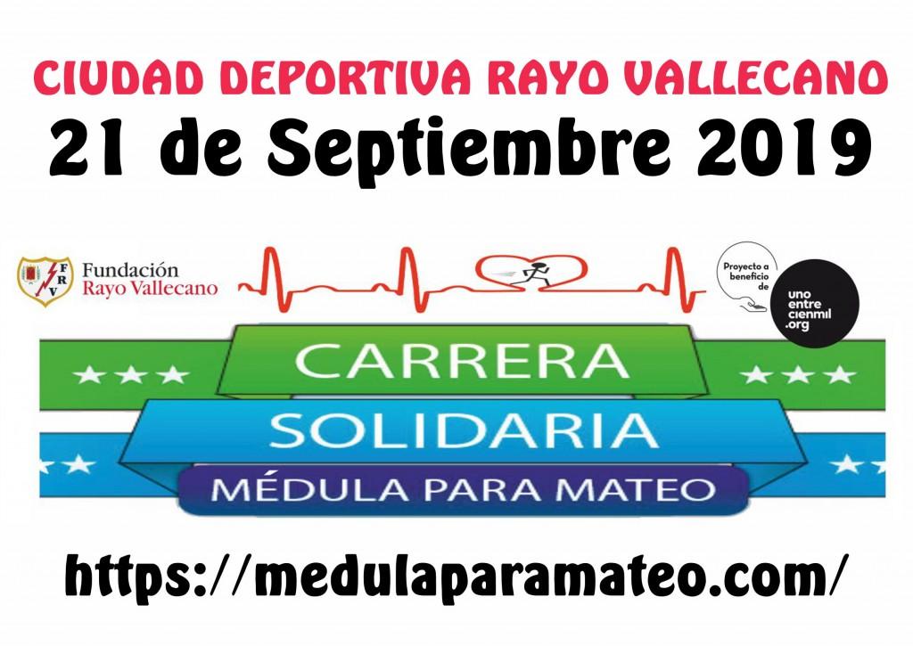 Carrera Médula Para Mateo - Rayo Vallecano 2019