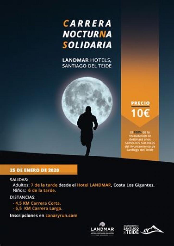 Carrera nocturna solidaria - Santa Cruz de Tenerife - 2020