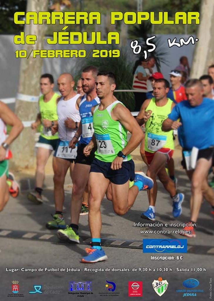 Carrera Popular de Jédula - Cadiz - 2019