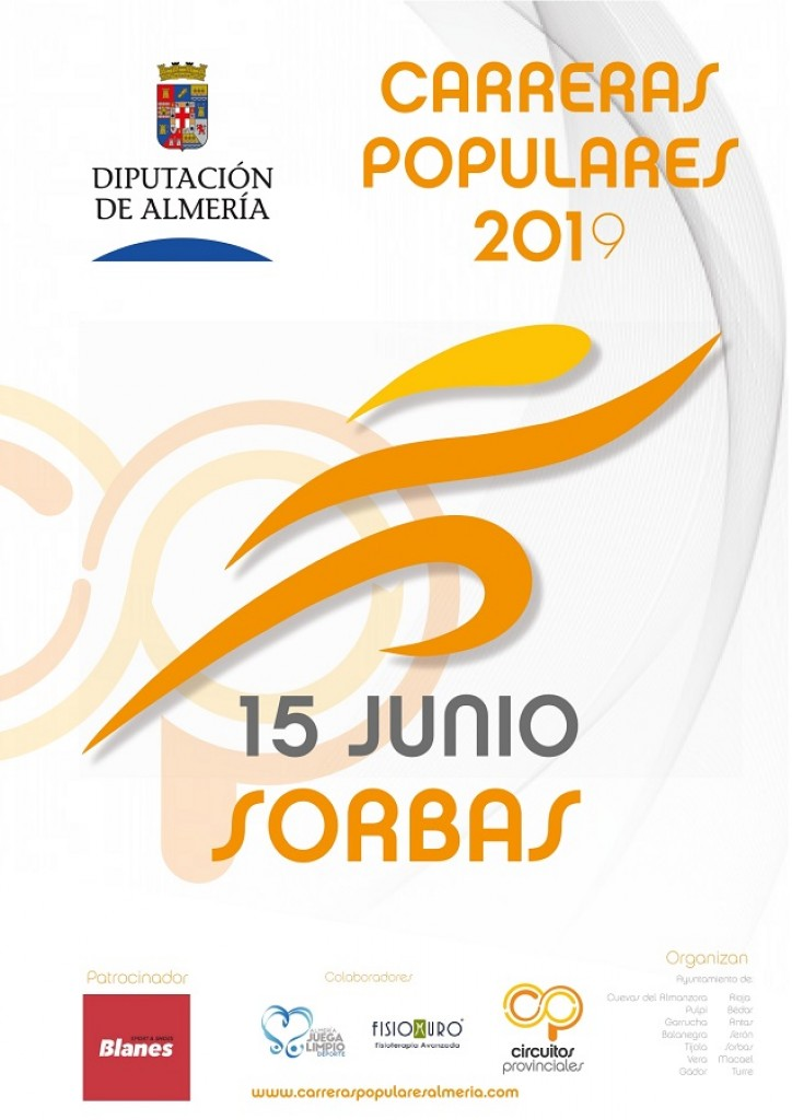 Carrera Popular de Sorbas 2019 - Almería