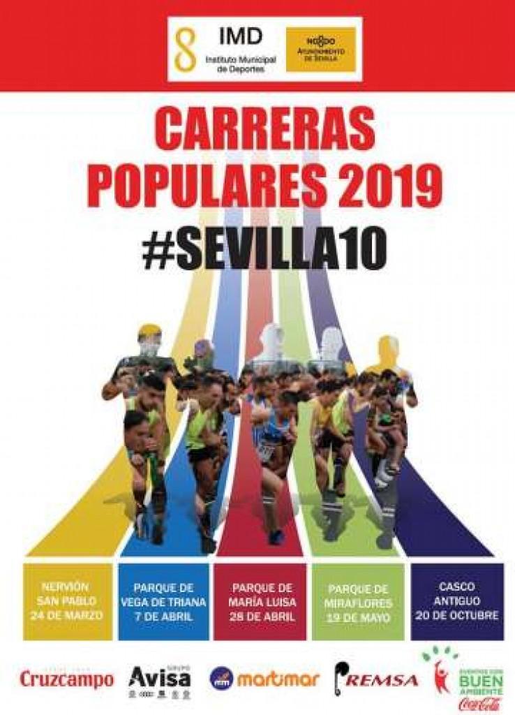 Carrera Popular Parque de María Luisa - Sevilla - 2019