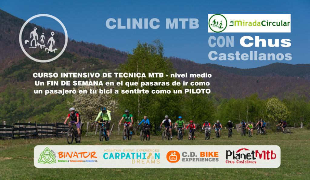 Clinic MTB La Mirada Circular Con Chus Castellanos