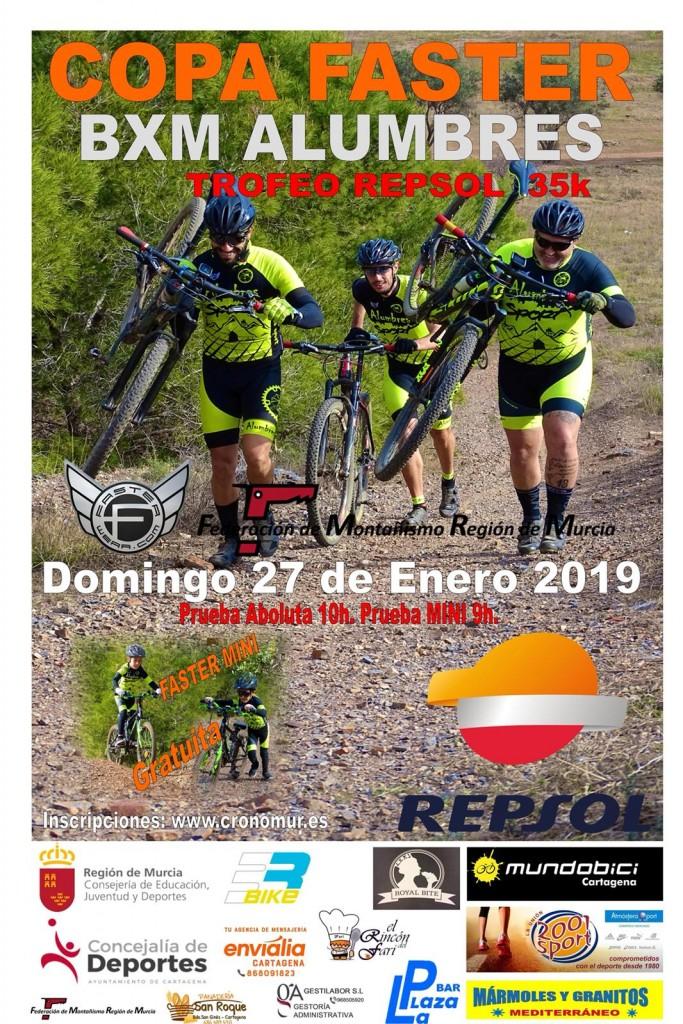 COPA FASTER BXM ALUMBRES TROFEO REPSOL 35K - Cartagena - 2019