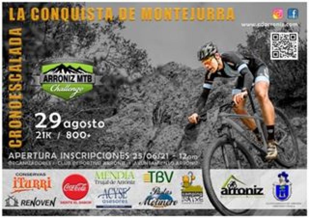 CRONO-ESCALADA LA CONQUISTA DE MONTEJURRA - 2021