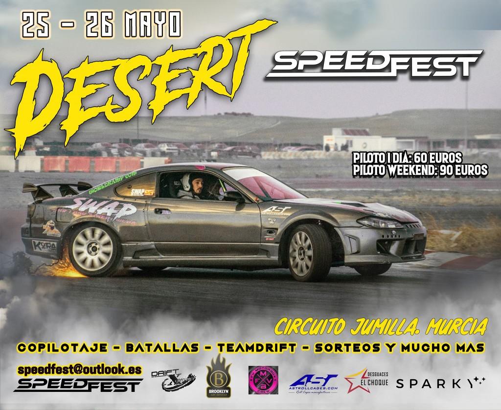 Desert Speedfest Festival Drift - Murcia - 2019