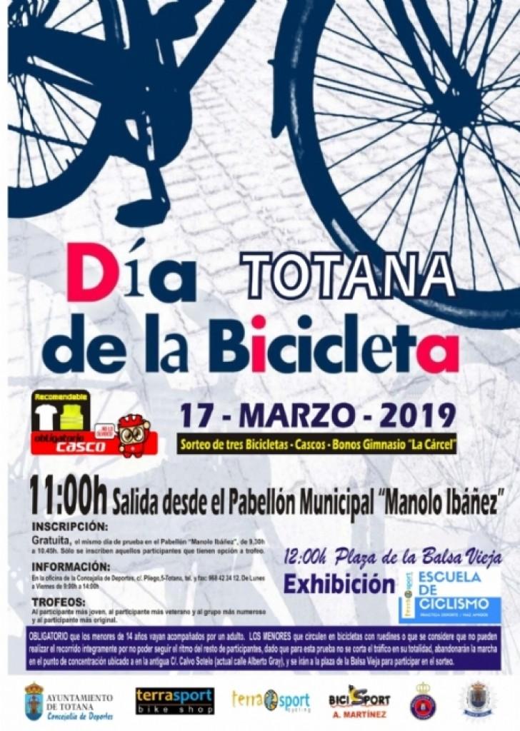 Día de la bicicleta Totana - 2019