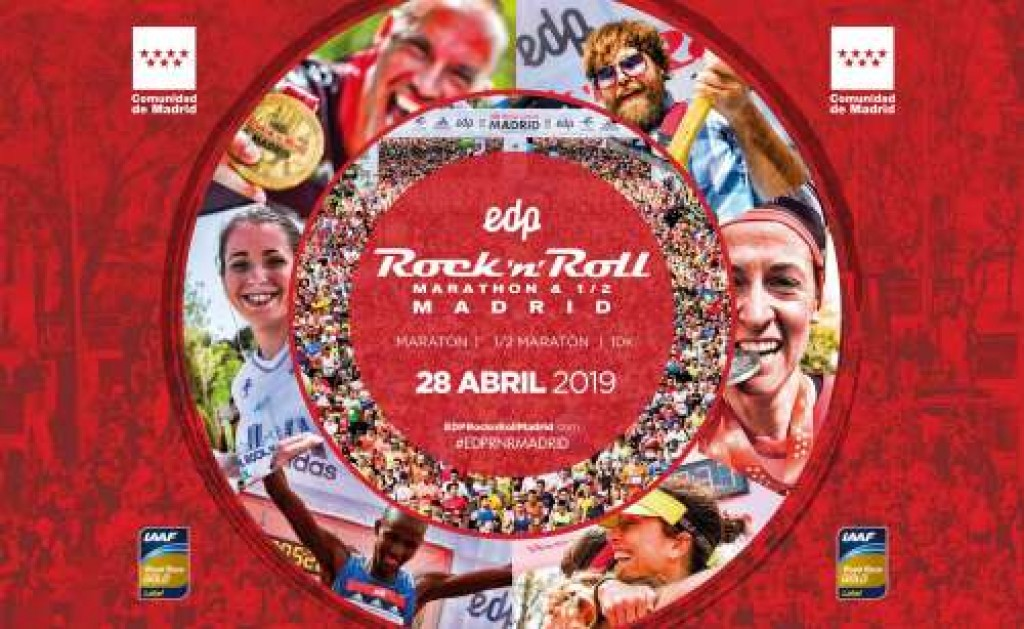 EDP Rock Roll Madrid Maratón - 2019