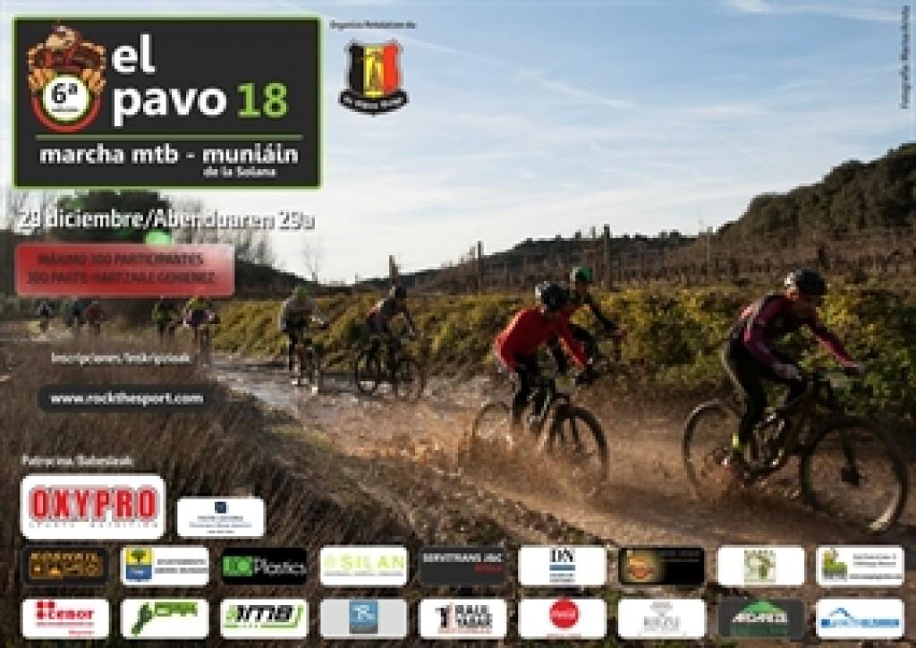EL PAVO 2018. MARCHA MTB - Navarra