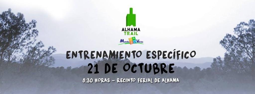 ENTRENAMIENTO ESPECIFICO ALHAMA TRAIL MUNDO VALIDO