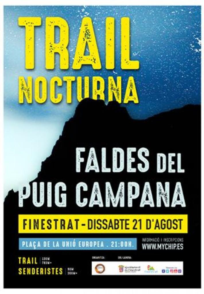 Faldes del Puig Campana, Trail  Sender Nocturn, 2021