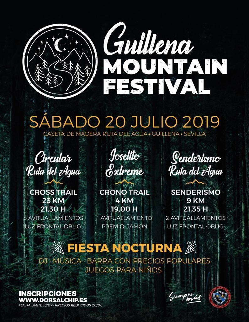 Guillena Mountain Festival: Cross Trail Circular Ruta del Agua - Sevilla - 2019