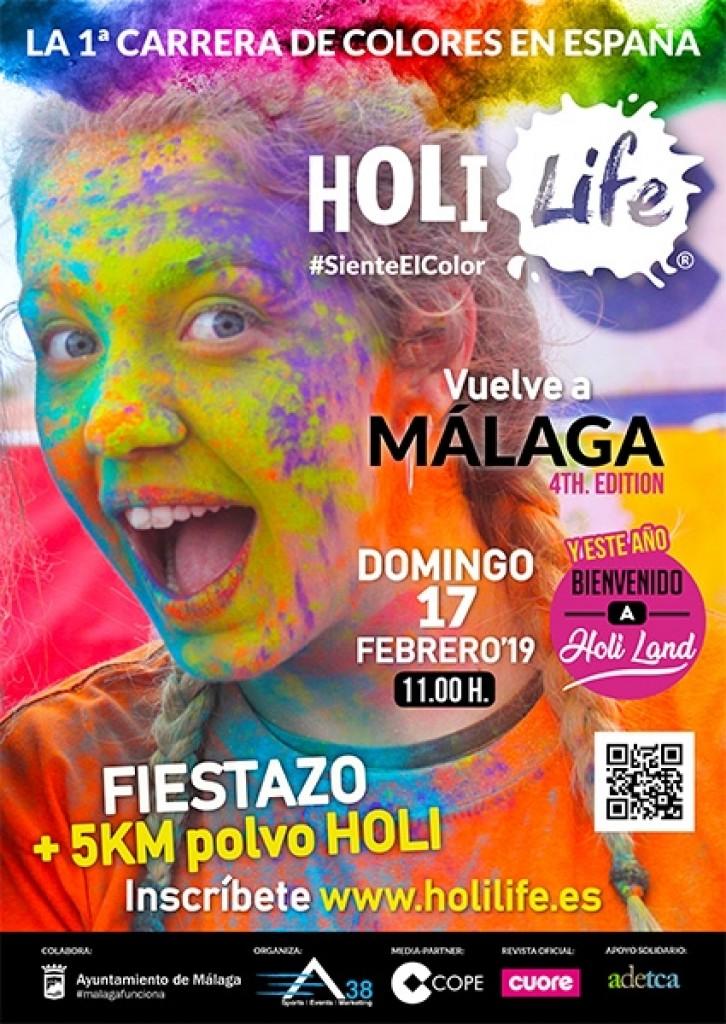 Holi Life Málaga 4th Edition 17-02-2019