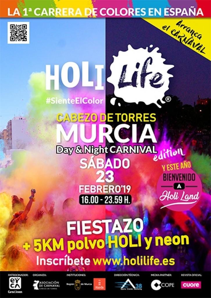 Holi Life Murcia 5th Day Night HoliLand Edition 23-02-19