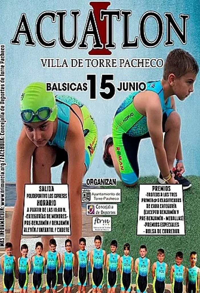 I ACUATLÓN DE MENORES VILLA DE TORREPACHECO - Murcia - 2019