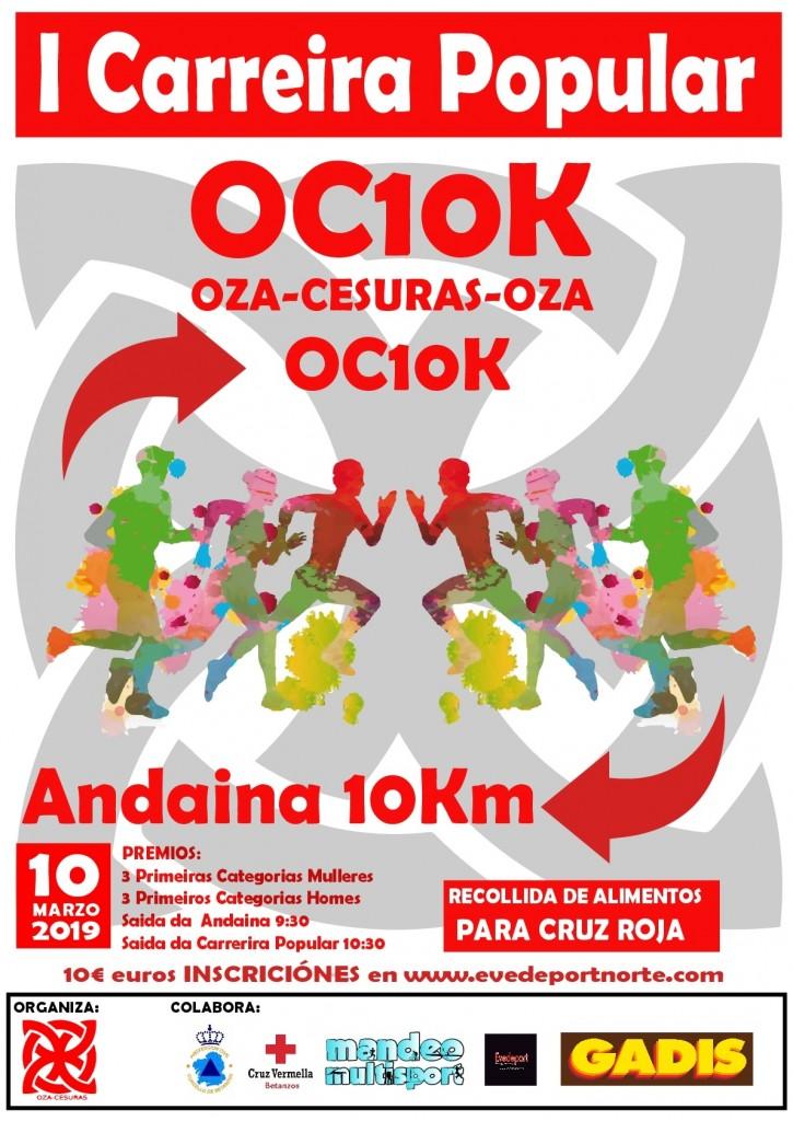 I CARREIRA POPULAR Oza-Cesuras - A Coruña - 2019