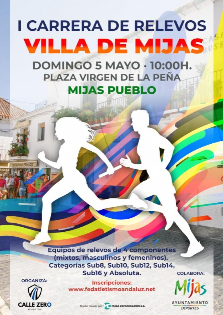 I Carrera de Relevos Villa de Mijas - Málaga - 2019