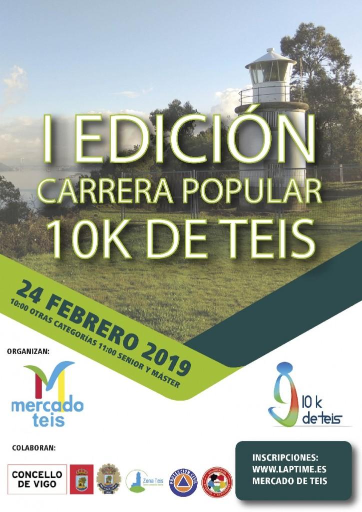 I Carrera Popular 10K de Teis - Pontevedra - 2019
