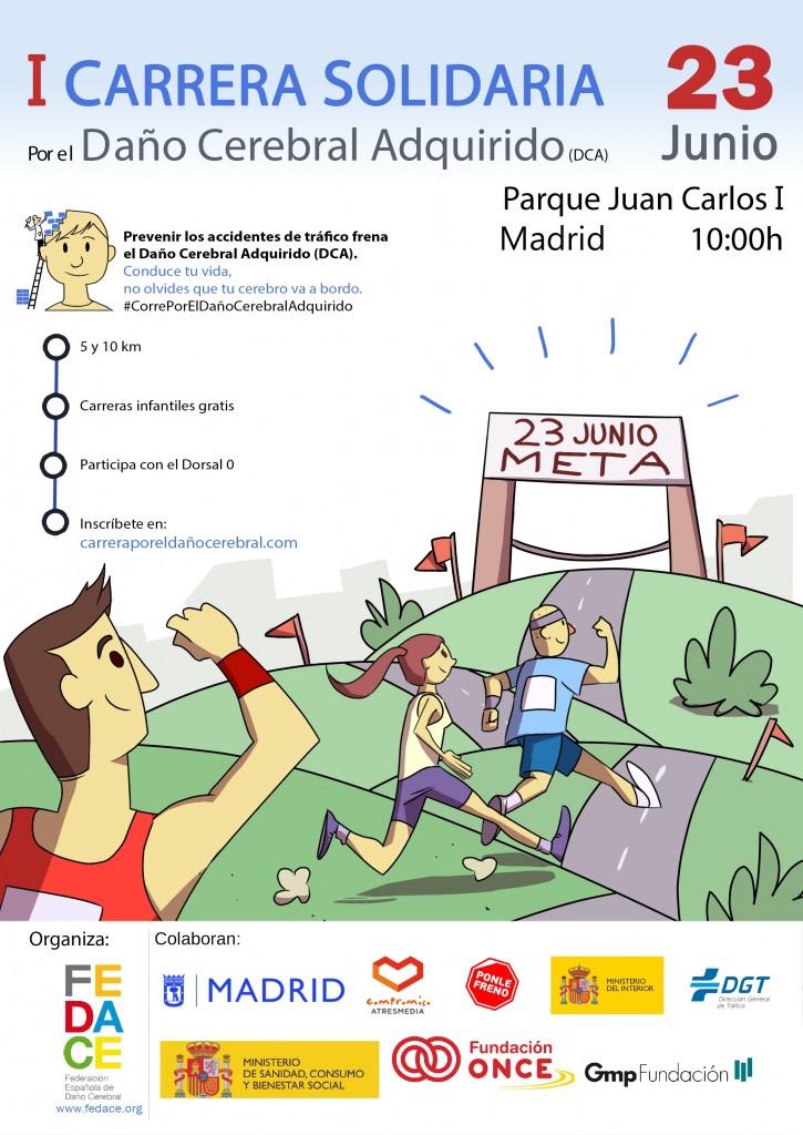 I Carrera por el Daño Cerebral - Madrid - 2019
