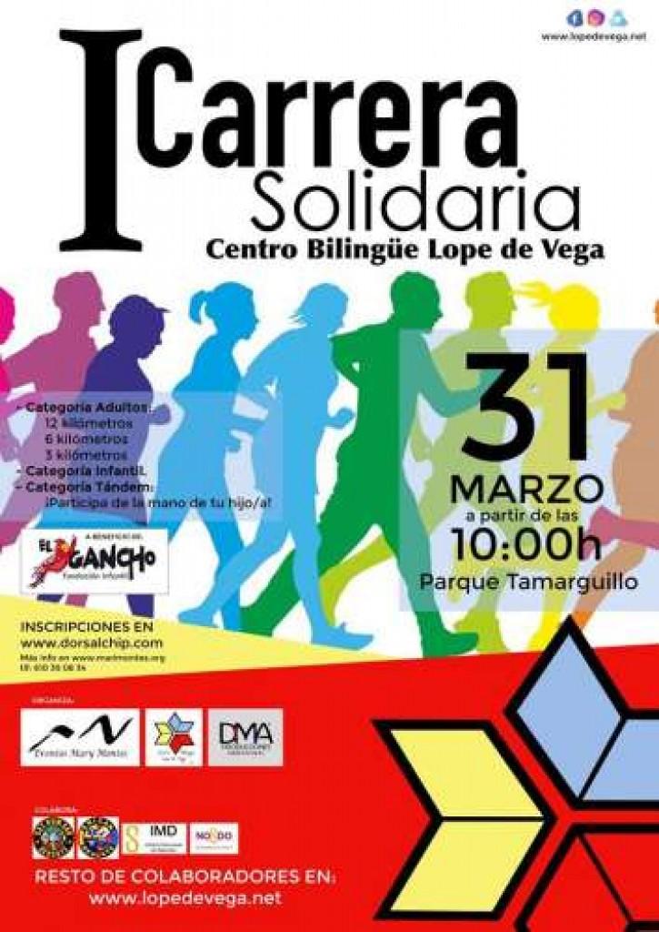 I Carrera Solidaria Centro Bilingüe Lope de Vega - Sevilla - 2019