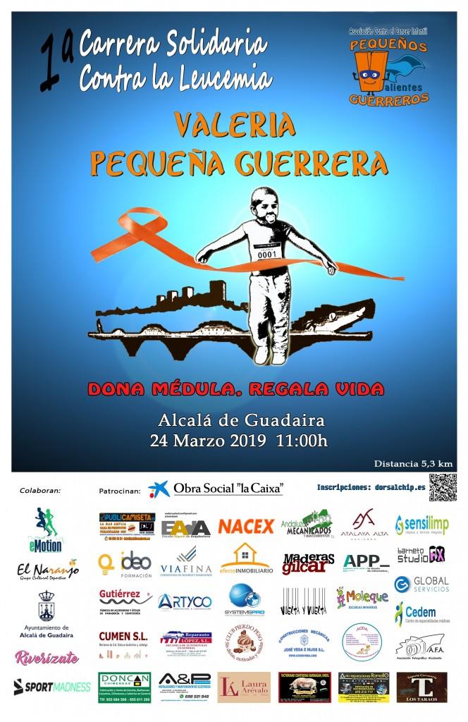 I Carrera Solidaria contra la Leucemia Valeria Pequeña Guerrera - Sevilla - 2019