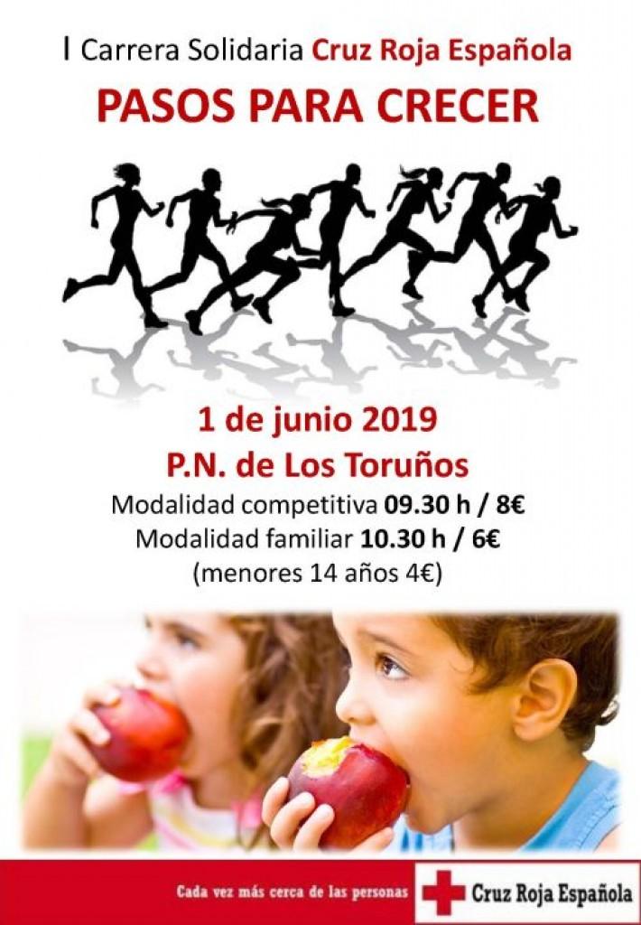 I Carrera Solidaria Cruz Roja Española PASOS PARA CRECER - Cadiz - 2019
