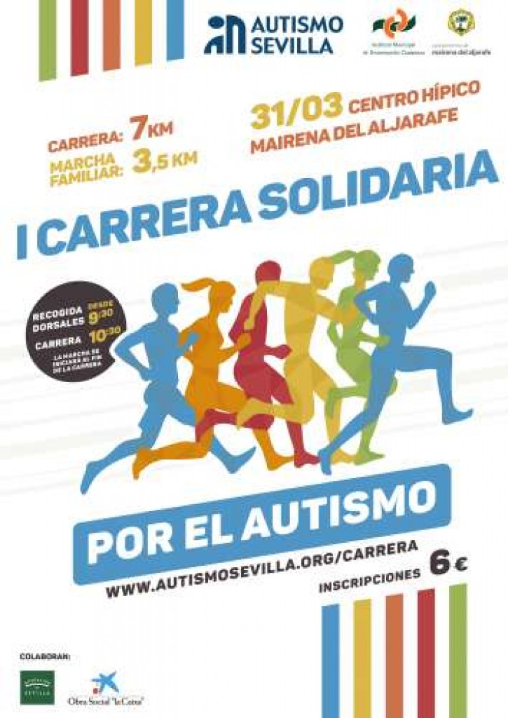 I Carrera Solidaria por el Autismo - Sevilla - 2019