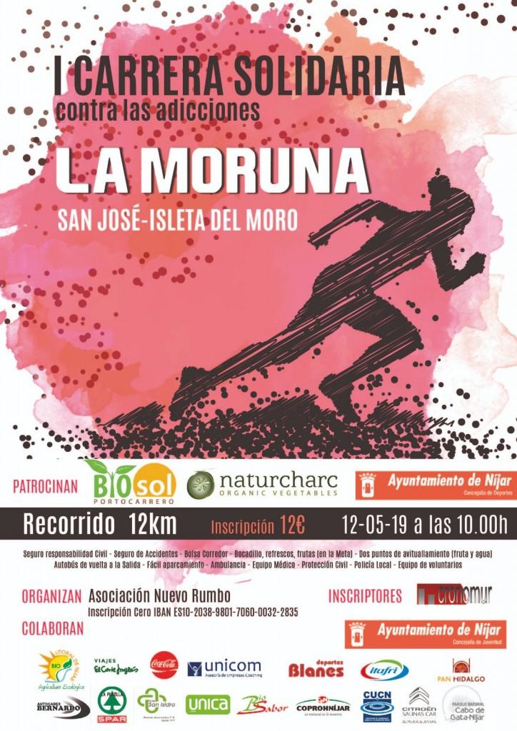 I CARRERA SOLIDARIA, TRAIL LA MORUNA SAN JOSE-ISLETA DEL MORO