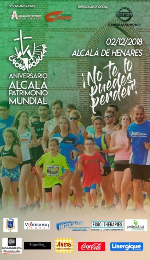 I CROSS ANIVERSARIO ALCALA PATRIMONIO MUNDIAL - MADRID - 2018